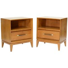 "Heywood Wakefield Night Stands from the ""Robsjohn-Gibbings"" Line"
