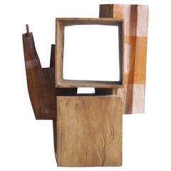 Hiroyuki Nishimura Sculpture Three Primitive African Abstract