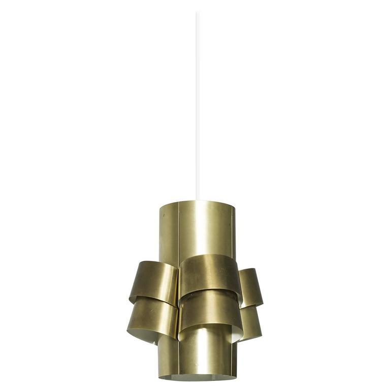 Brass hans agne jakobsson ceiling lamp for sale at 1stdibs torsten orrling hans agne jakobsson ceiling lamp in brass aloadofball Gallery