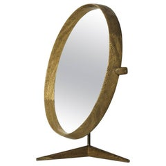 Uno & Östen Kristiansson Table Mirror by Luxus in Sweden