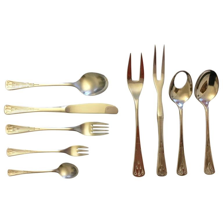 Flatware, Cutlery Set by Berndorf Model 9100, Charleston 1