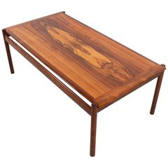 Stunning Rosewood Sven Ivar Dysthe Coffee Table, 1960s
