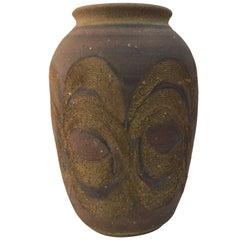 Beautiful 1970s Studio Pottery Vase