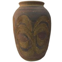 Beautiful 1970s Studio Pottery Vase