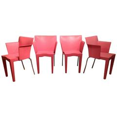 Set of 2 Armchairs by Philippe Starck Model Super Glob for Kartell