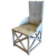 Industrial One of a Kind Handmade Chair