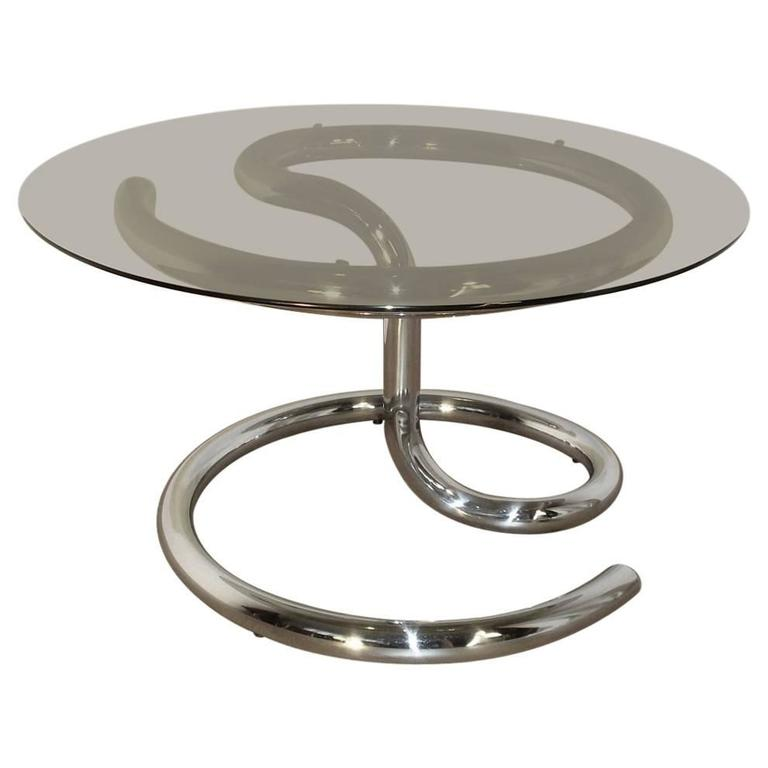 Anaconda Coffee Table by Paul Tuttle for Strässle in 1970 For Sale
