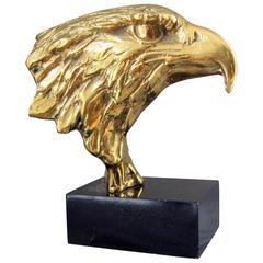 Mitte des Jahrhunderts Skulptur American Eagle