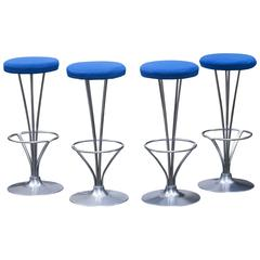 Piet Hein Bar Stool for Fritz Hansen Set of Four, 1960