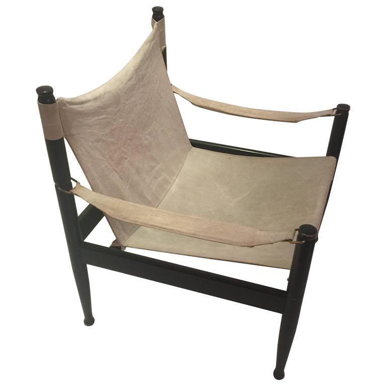 Erik Worts for Niels Eilersen Safari Chair 1