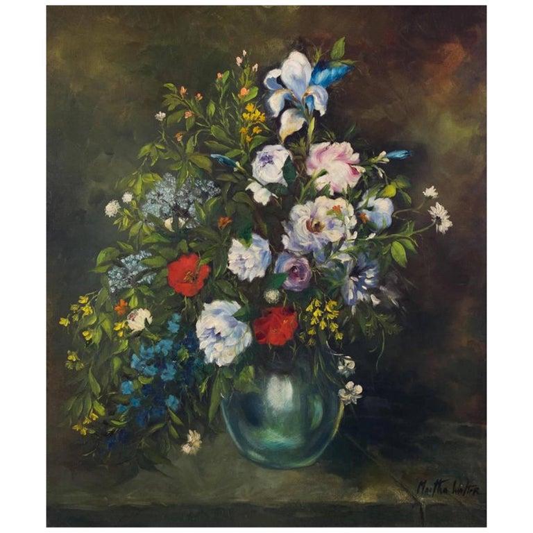 Martha Walter Floral Still Life For Sale