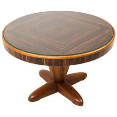 Stunning and Rare Art Deco Coffee Table by Paul Bromberg for Pander, 1931