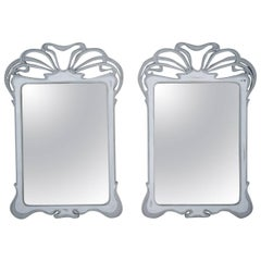 Pair of Italian Painted Wall Mirrors