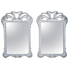 Vintage Pair of Regency-Style Wall Mirrors