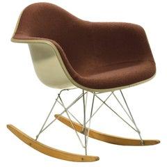 "Eames ""Baby Rocker"" Rar by Herman Miller with Alexander Girard Upholstery"