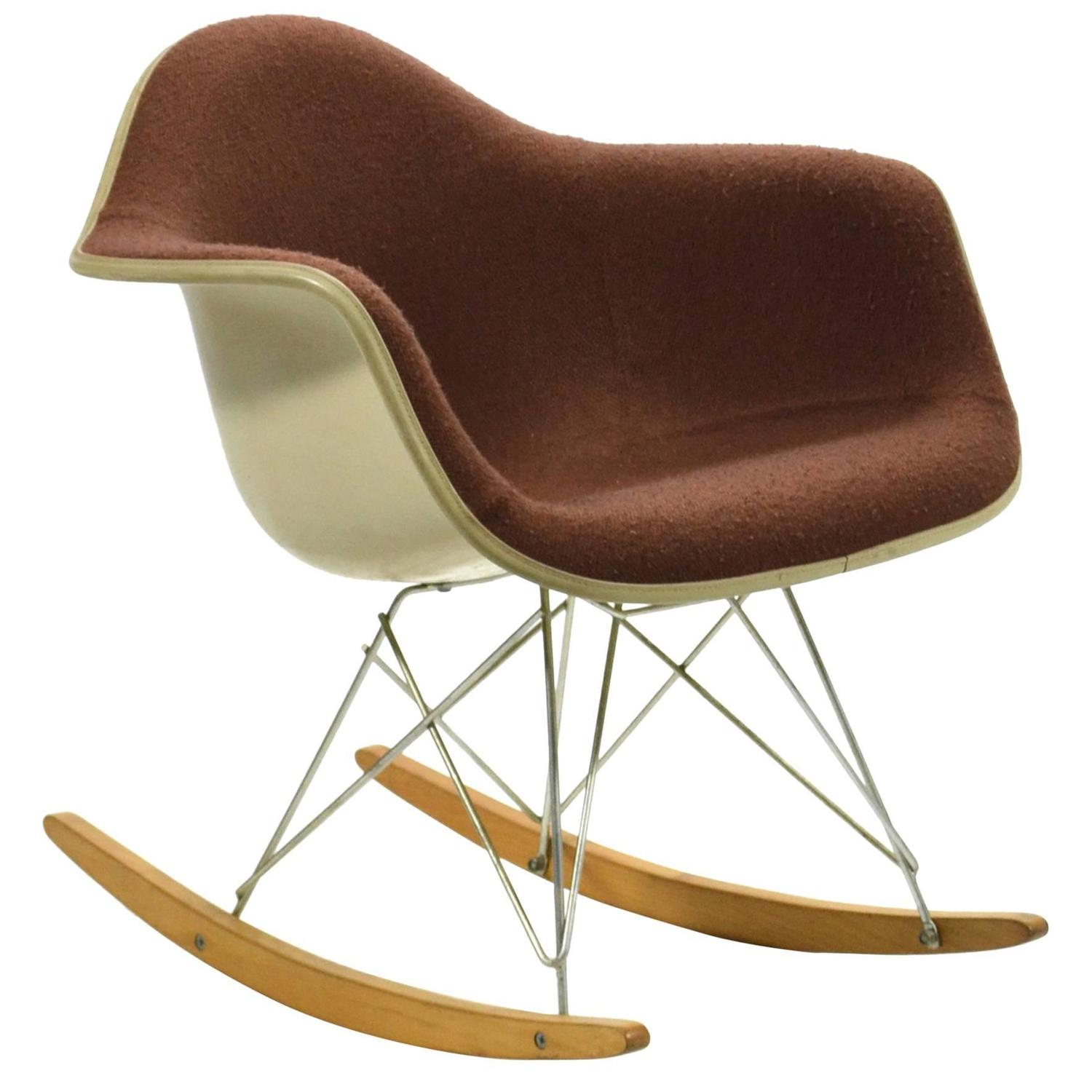 Charles and Ray Eames Rocking Chairs 24 For Sale at 1stdibs