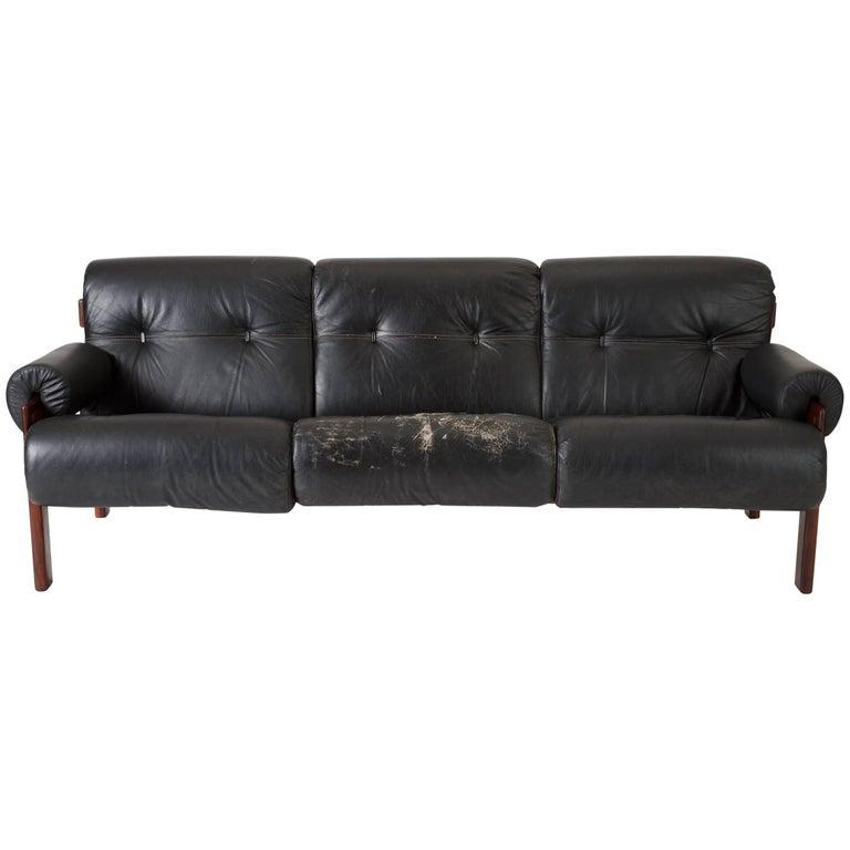 Brazilian Modernist Sofa by Jean Gillon