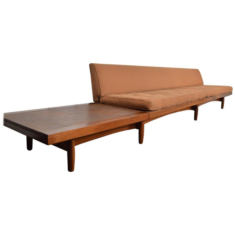 Incredible extra long custom made sofa bench table for for Long couches for sale