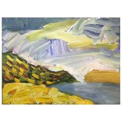 Original Summer Landscape Painting by Andrey Bogoslowsky