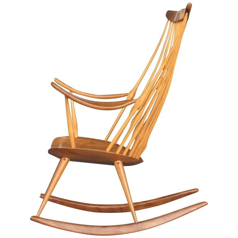 studio rocking chair by jeremy singley at 1stdibs