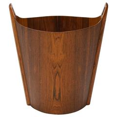 P. S. Heggen Rosewood Wastebasket by Einar Barnes