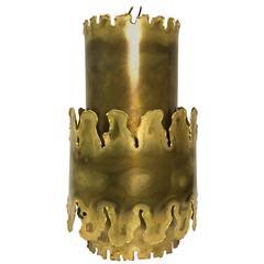 Svend Aage Holm Sorensen Brass Pendant Light
