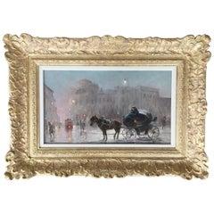 """""""The Evening Carriage Warsaw"""" by Czesław Wasilewski"""