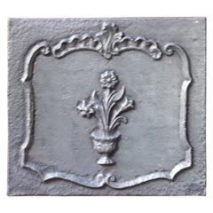 19th Century Flower Basket Fireback