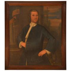 18th Century Provincial Portrait of a gentleman