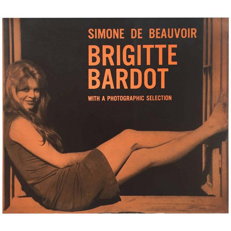 Quot Simone De Beauvoir Brigitte Bardot Quot Book 1960 For Sale