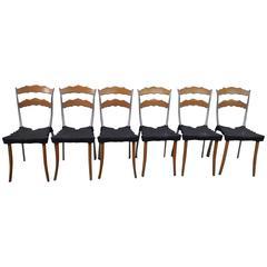 "Set of Six Borek Sipek ""Sedlak"" Chairs"