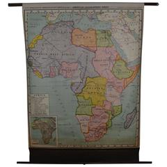 Map of Africa, Early 1900s