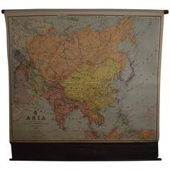 Map of Asia, Early 1900s