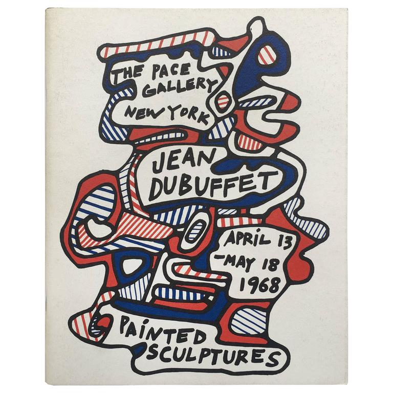 "Jean Dubuffet, Painted Sculptures, ""The Pace Gallery, New York"", 1968 For Sale"