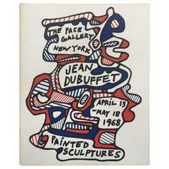 "Jean Dubuffet, Painted Sculptures, ""The Pace Gallery, New York"", 1968"