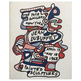 """Jean Dubuffet, Painted Sculptures, """"The Pace Gallery, New York"""", 1968"""