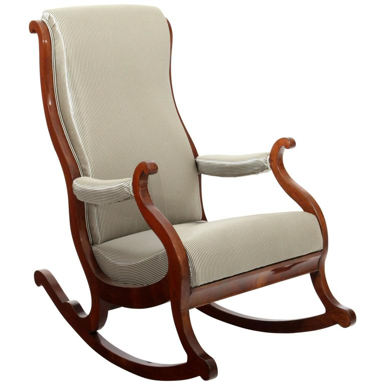 Biedermeier Rocking Chair Prob North German For Sale At