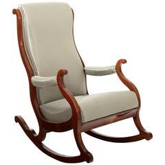 Biedermeier Rocking Chair, Prob. North German
