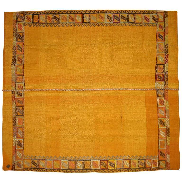 Moroccan Flat-Weave Carpet 1