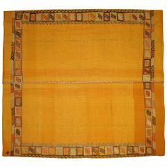Moroccan Flat-Weave Carpet