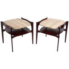Sculptural Italian Modern Side Tables