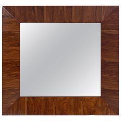 Rosewood Mirror Designed by Edward Wormley for Dunbar