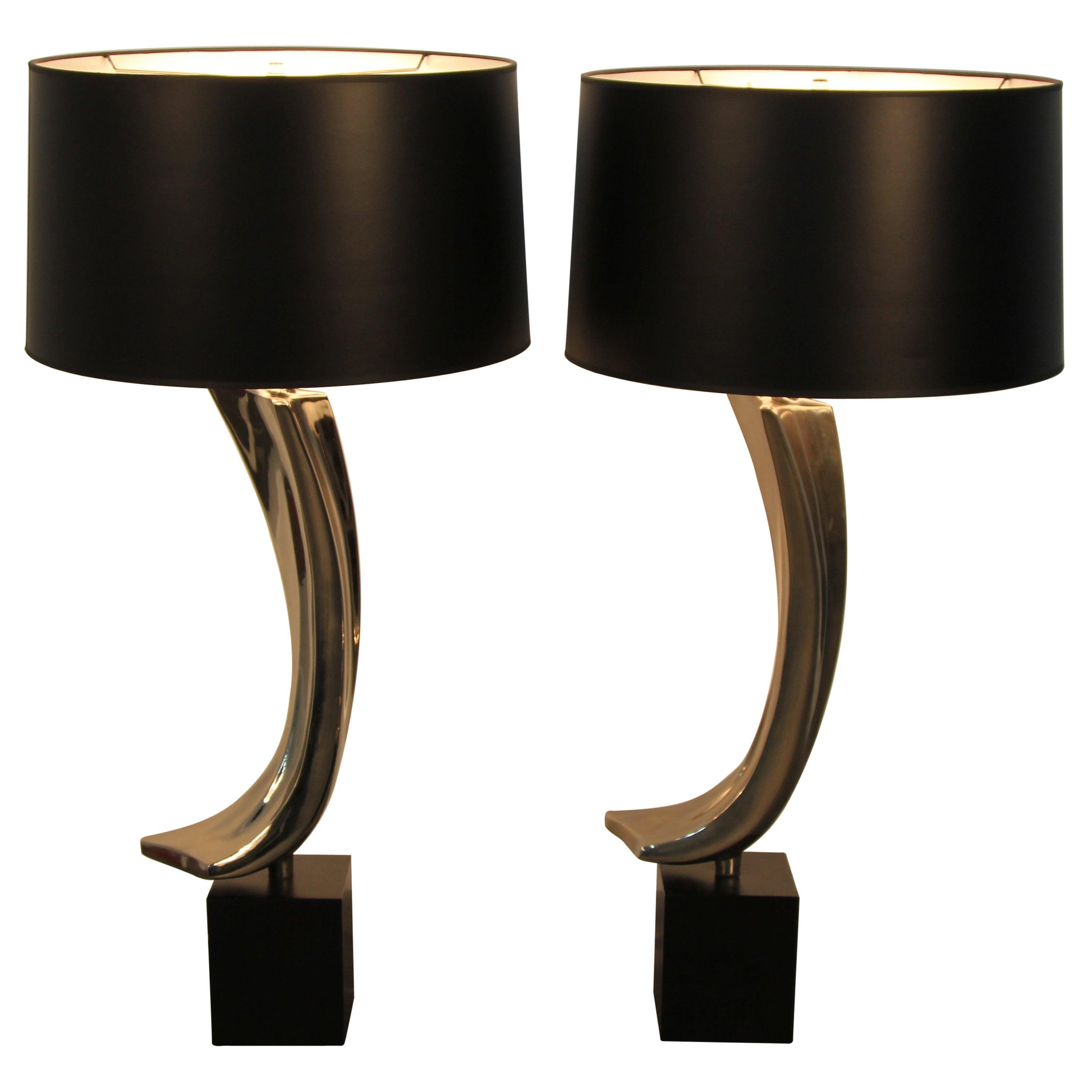 Pair of Laurel Lamp Co Lamps