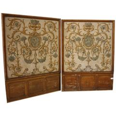 Two 18th Century French Painted Panels