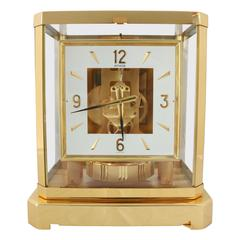 "Mid-20th Century, Jaeger-LeCoultre ""Atmos"" Classique Table Clock"