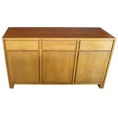 Mid-Century Modern Russel Wright Solid Maple Sideboard