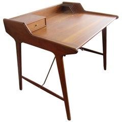 Svend a. Madsen Flip Desk in Teak by Knudsen and Son