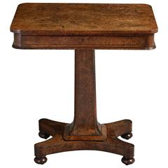 George IV Pollard Oak Side Table