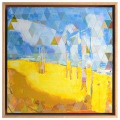 "Robert Katkowski ""Relics"" Contemporary Abstract Painting"