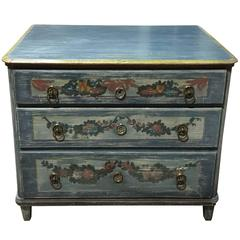 Early 19th Century Painted Commode, Continental